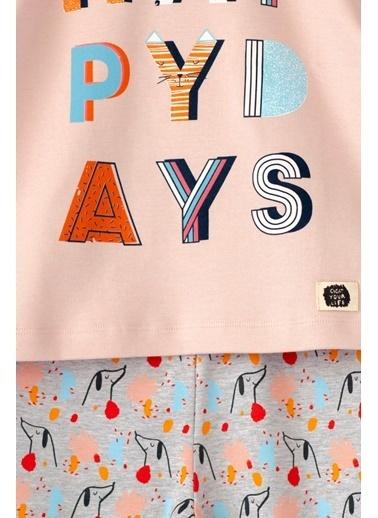 Cigit Happy Days Pijama Takımı Pudra